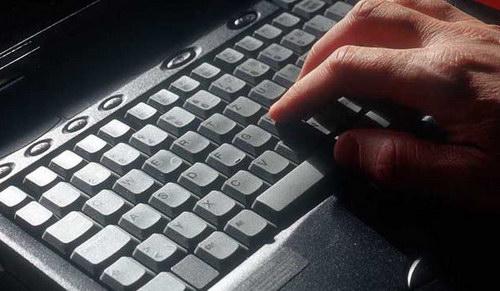 Блогер и его клавиатура