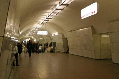 Станция метро Лубянка